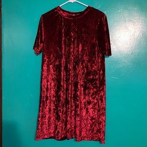 Dresses & Skirts - Red Velvet Dress